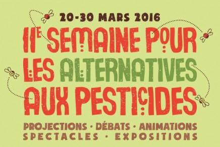 C'est la semaine pour les alternatives aux pesticides.